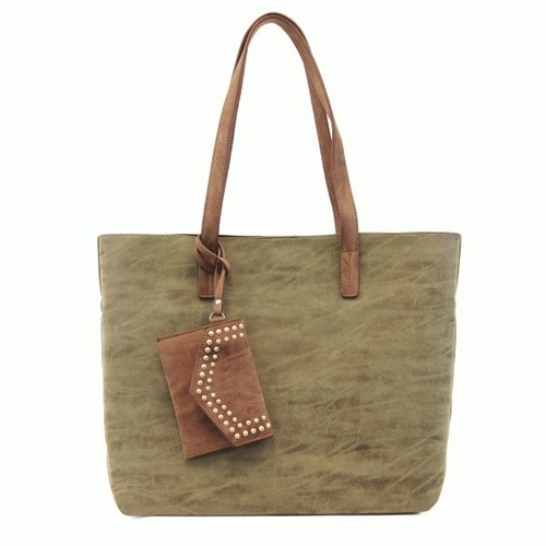 Brushed Medium Tote