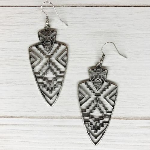 Aztec Arrowhead Dangle
