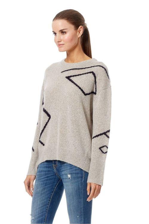 Ashlynn Pullover Cashmere Sweater