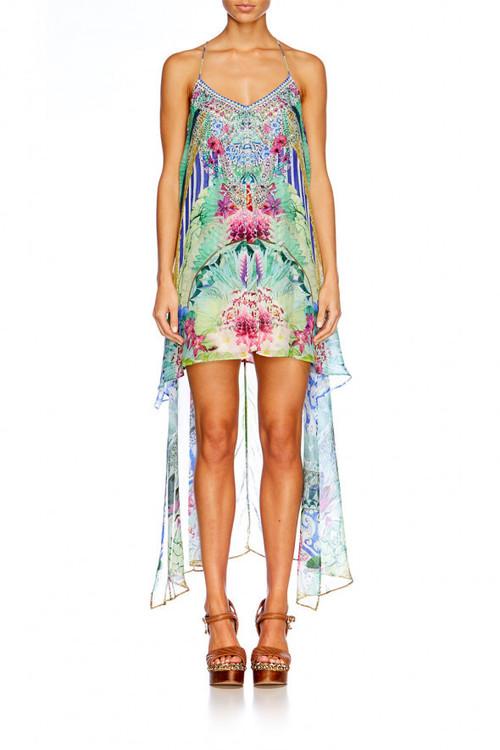 Split Front Dress W/ Long Back, BHABLISS