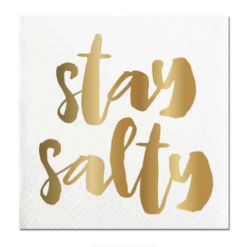 Stay Salty Foil Napkins