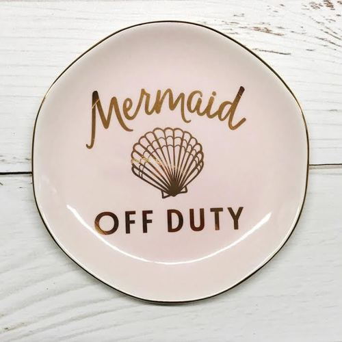 Mermaid Off Duty Trinket Tray