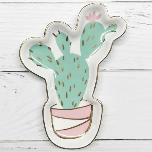 Cactus Trinket Tray