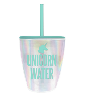 Unicorn Water Travel Tumbler