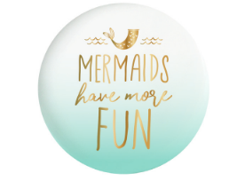 Mermaids Have More Fun Ceramic Wall Tile