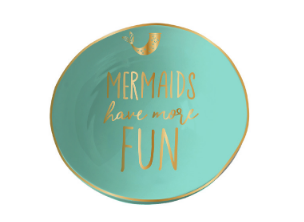 Mermaids Have More Fun Trinket Bowl