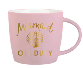 Mermaid Off Duty Audrey Mug