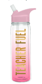 Teacher Fuel Water Bottle