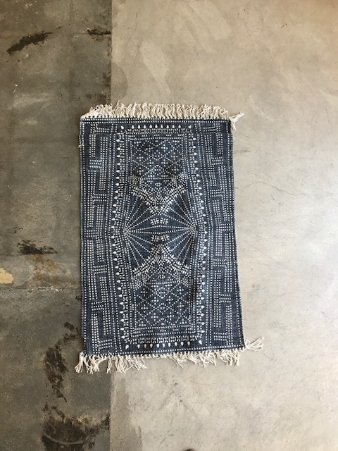 Indigo Batik Rug