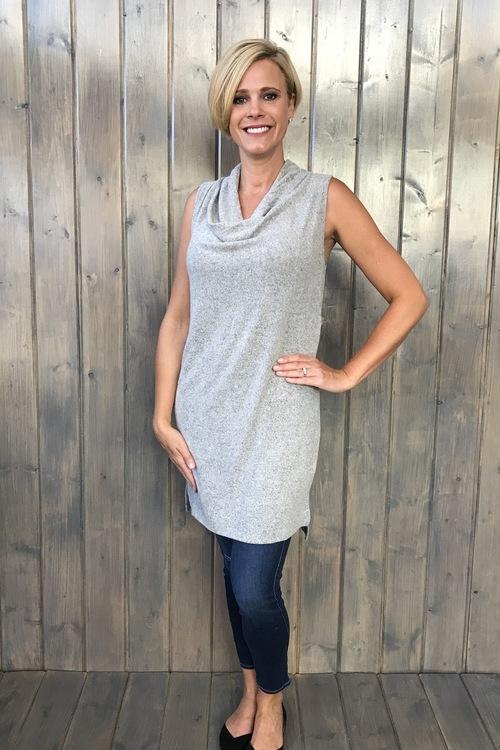 The Brooklyn Dress Heather Grey
