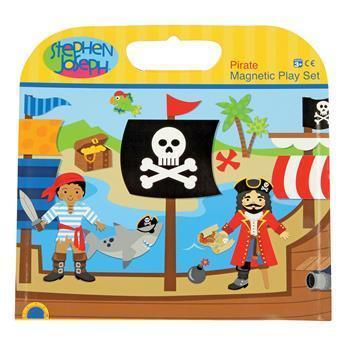 Magnetic Pirate Play Set