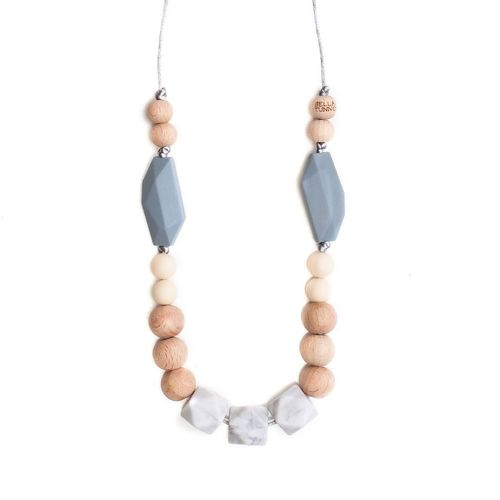 Austin Necklace Gray