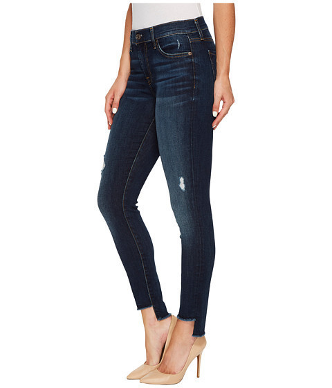 Step Hem Ankle Skinny Dark Riverside