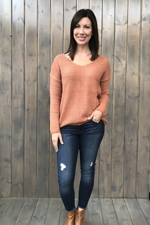 Ace Dusty Cedar Sweater