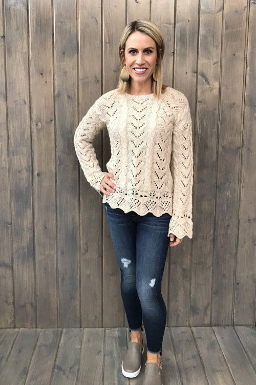 Victoria Whitecap Sweater