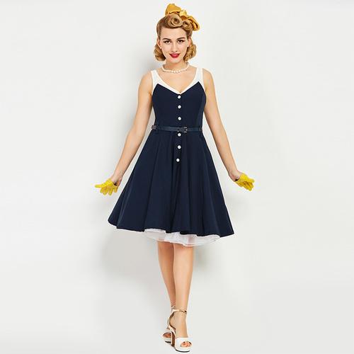 Mary Maritime Dress