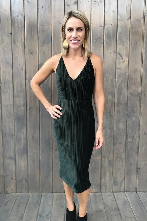 Lauren Velvet Dress