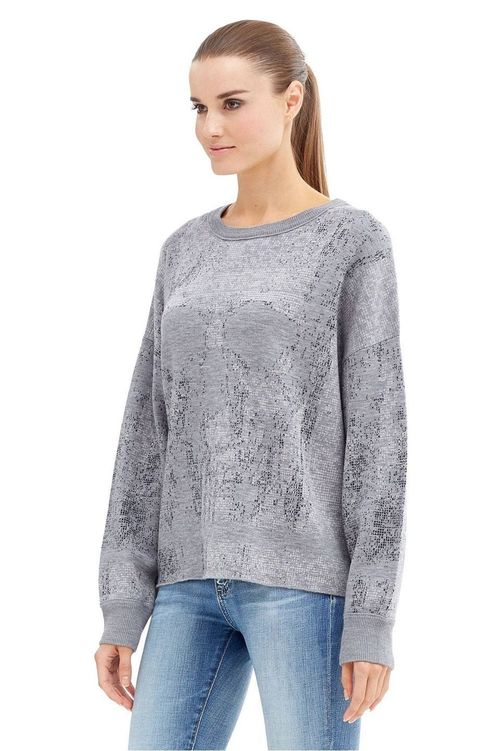 Rose - Crewneck Long Sleeve Wool Pullover