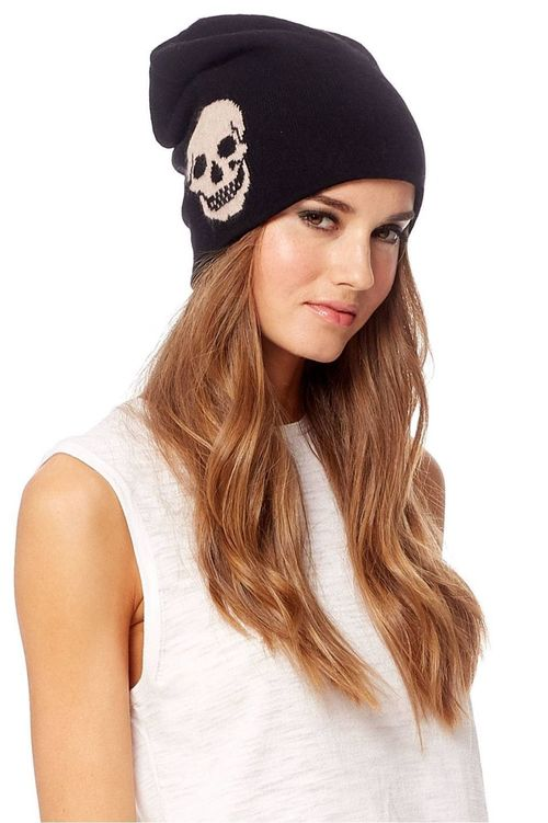 Skull Cashmere Cap By 360 Sweater  51af8eb2c6d
