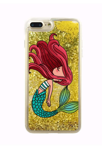 Mermaid Glitter iPhone Case
