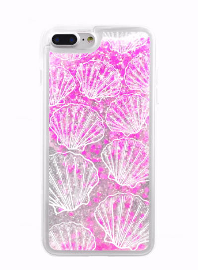 Shell Giltter iPhone Case