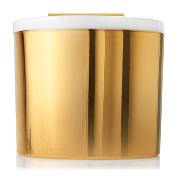 Frasier Fir Gold w White Top Candle