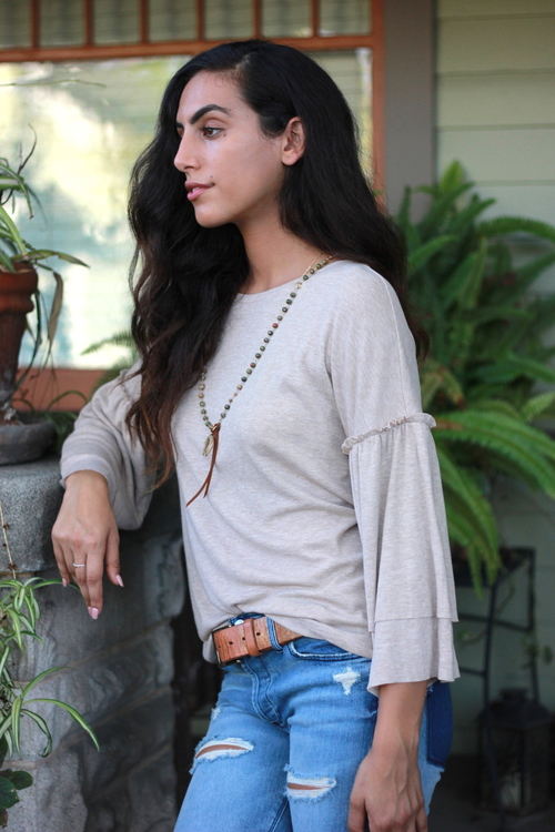 Rosamund Knit Top