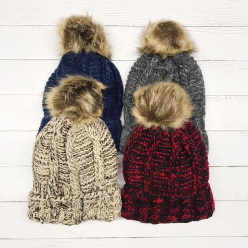 Blended Knit Beanie