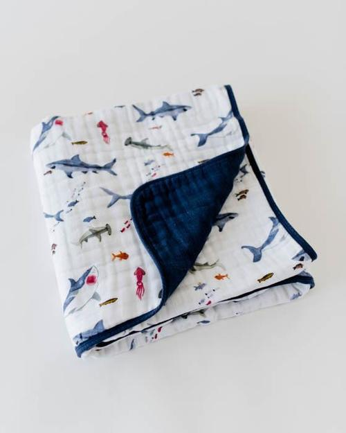 Shark Muslin Quilt