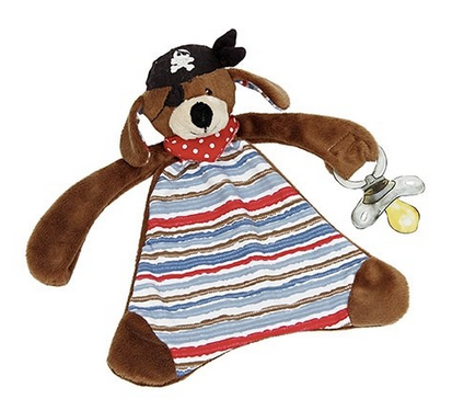 Patch the Pirate Dog Taggie Blanket