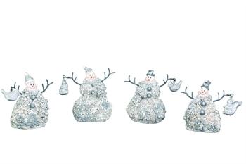 Elegant Snowman Ornament