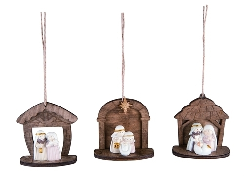Mini Nativity Ornament