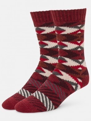 Fisheye Stripe Sock