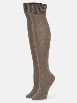Bette Knee High Sock Suede