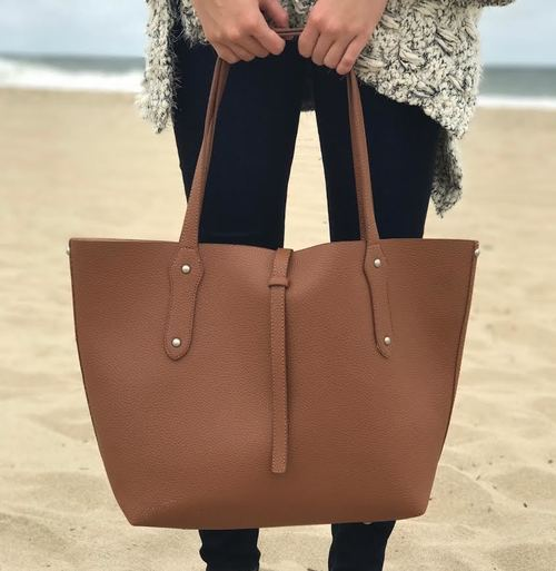 Flap Over Tote Bag
