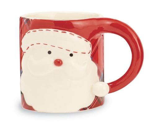 Santa Tartan Mug