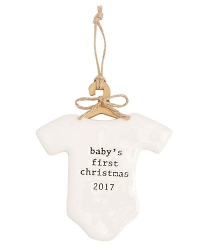 Baby FIrst Ornament 2017