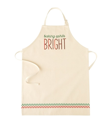 Sequined Holiday Apron