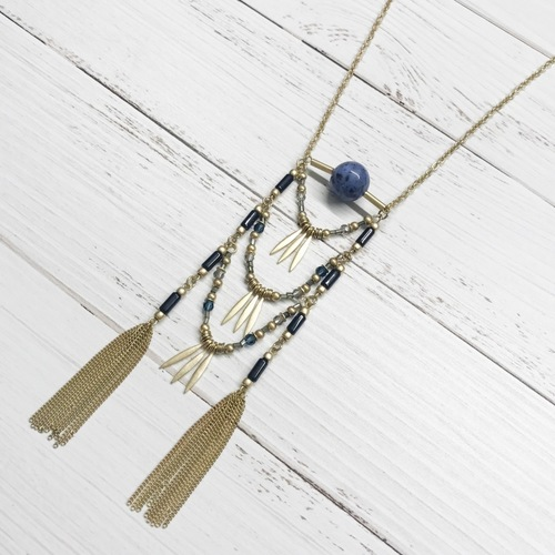 Funky Boho Long Necklace