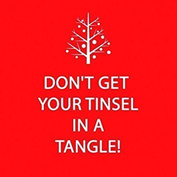 Tinsel in a Tangle Napkins