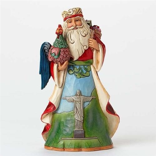 Brazilian Santa Figurine