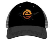"""BOCO Trucker Hat - All Black """"e"""""""