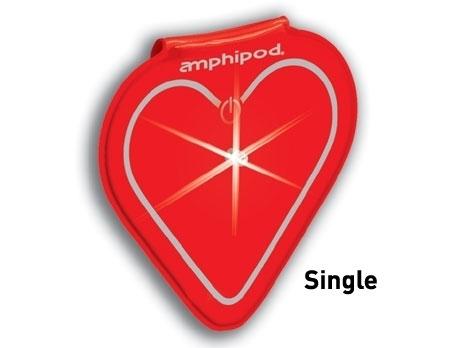 Vizlet LED Reflector Red Heart