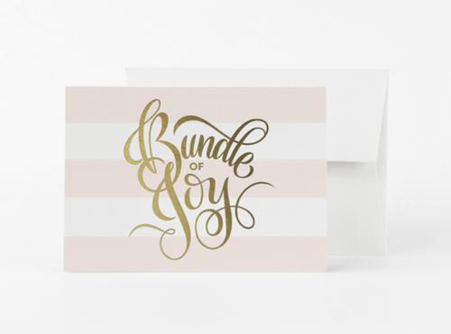 Bundle Of Joy Card- Pink