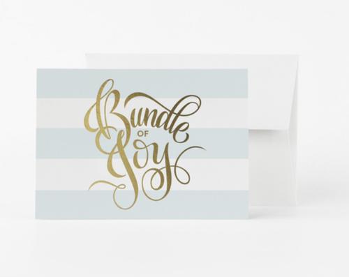 Bundle Of Joy Card- Blue