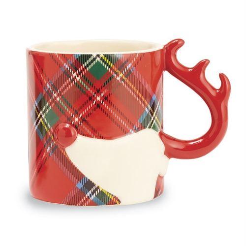 Reindeer Tartan Mug