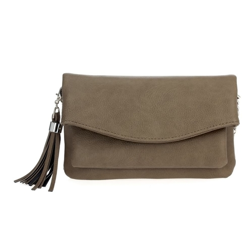 Small Flap Over Tassel Cross Body