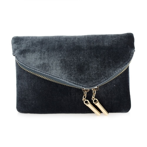 Small Velvet Cross Body Bag
