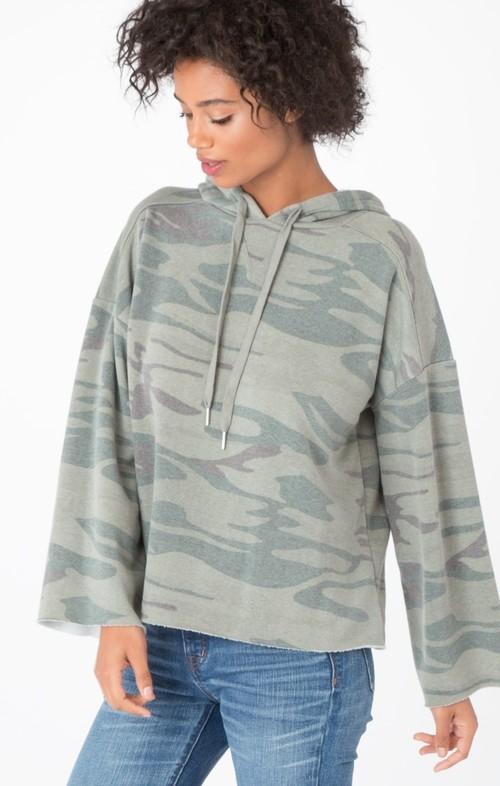 Camo Green Loft Pullover