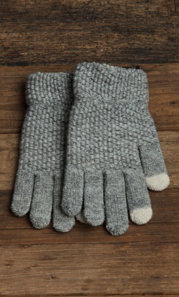 Frosted Pebble Glove Graphite
